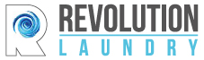 Logo Revolution Laundry, self service laundry