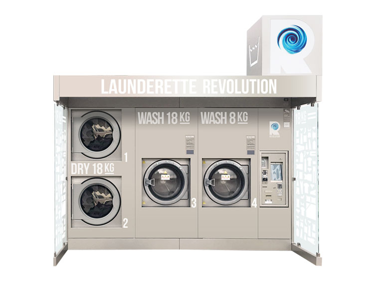 Our Outdoor Laundromat: Revolution Compact X
