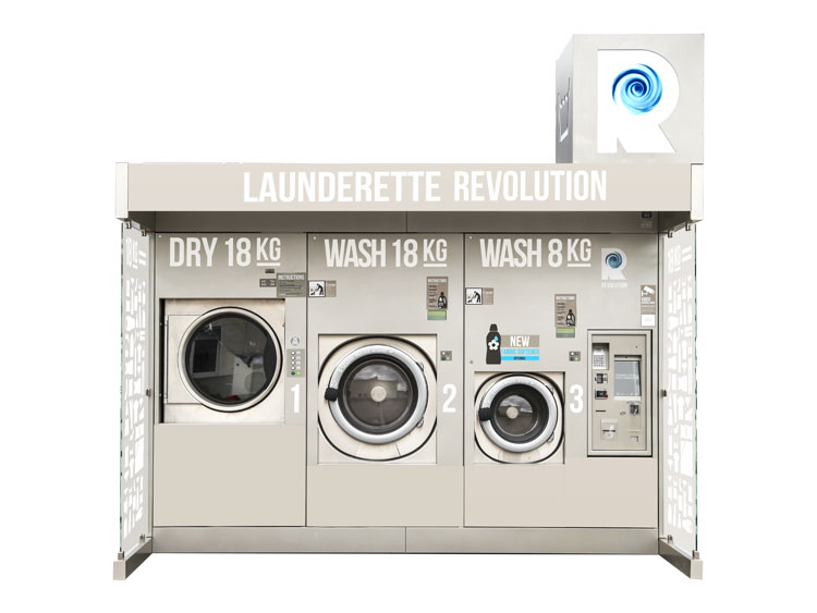 Our Outdoor Laundromat: Revolution Compact